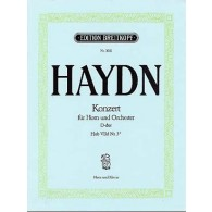 HAYDN J. CONCERTO N°1 RE MAJEUR COR