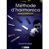 HERZHAFT D. METHODE D'HARMONICA VOL 1