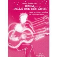 TISSERAND T. BOSSA DE LA RUE DES ARTS FLUTE ET GUITARE