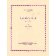 HAENDEL G.F. PASSACAILLE HARPE