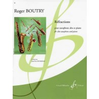 BOUTRY R. REFRACTIONS SAXO ALTO