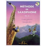 DELANGLE C./BOIS C. METHODE VOL 2 SAXOPHONE ALTO + CD