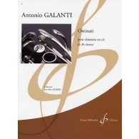 GALANTI A. OSTINATI CLARINETTE