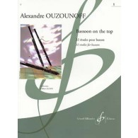 OUZOUNOFF A. BASSOON ON THE TOP VOL 1 BASSON