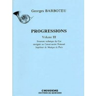 BARBOTEU G. PROGRESSIONS VOL 3 COR