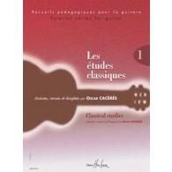 ETUDES CLASSIQUES VOL 1 GUITARE