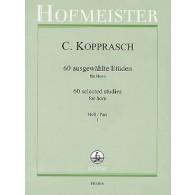 KOPPRASCH 60 SELECTED STUDIES VOL 1 COR
