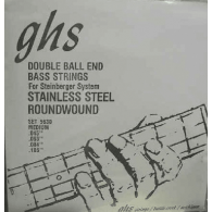 JEU DE CORDES BASSE GHS STRINGS 5600 DOUBLE BOULE STAINLESS STEEL