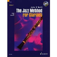 O'NEILL J. THE JAZZ METHOD VOL 1 FOR CLARINET