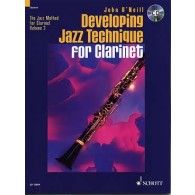 O'NEILL J. THE JAZZ METHOD VOL 2 FOR CLARINET