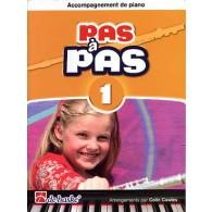 KASTELEIN J. PAS A PAS VOL 1 FLUTE ACCOMPAGNEMENT PIANO