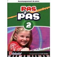 KASTELEIN J. PAS A PAS VOL 2 FLUTE ACCOMPAGNEMENT PIANO
