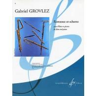 GROVLEZ G. ROMANCE ET SCHERZO FLUTE