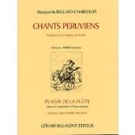BECLARD D'HARCOURT M. CHANTS PERUVIENS FLUTE
