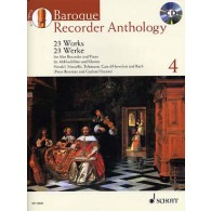 BAROQUE RECORDER ANTHOLOGY VOL 4 FLUTE ALTO