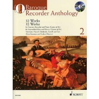 BAROQUE RECORDER ANTHOLOGY VOL 2 FLUTE A BEC SOPRANO