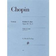 CHOPIN F. ETUDE OP 10 N°3 PIANO