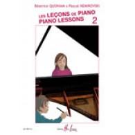QUONIAN B./NEMIROVSKY P. LES LECONS DE PIANO VOL 2