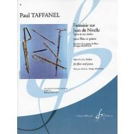 TAFFANEL P. FANTAISIE SUR JEAN DE NIVELLE FLUTE
