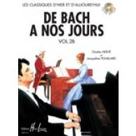 DE BACH A NOS JOURS VOL 2B PIANO