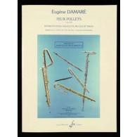 DAMARE E. FEUX FOLLETS OP 378 FLUTE PICCOLO
