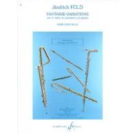 FELD J. FANTAISIE VARIATIONS FLUTE