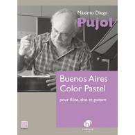 PUJOL E. BUENO AIRES COLOR PASTEL FLUTE ALTO GUITARE