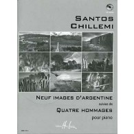 CHILLEMI S. 9 IMAGES D'ARGENTINE PIANO