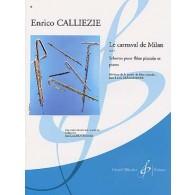 CALLIEZIE E. LE CARNAVAL DE MILAN OP 5 FLUTE PICCOLO