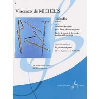 MICHELIS (DE) V. TRASTULLO OP 83 FLUTE PICCOLO