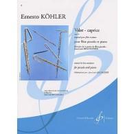 KOHLER E. VALSE-CAPRICE OP 14 FLUTE PICCOLO