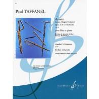 TAFFANEL P. ARIOSO FLUTE