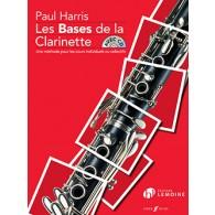 HARRIS P. LES BASES DE LA CLARINETTE