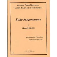 DEBUSSY C. SUITE BERGAMASQUE FLUTE