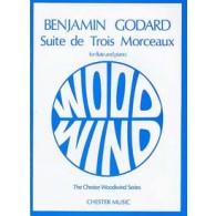 GODARD B. SUITE DE TROIS MORCEAUX FLUTE