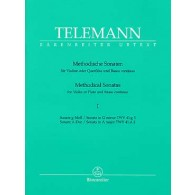 TELEMANN G.P. METHODICAL SONATAS VOL 1 FLUTE