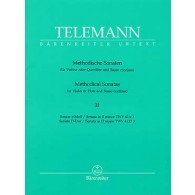TELEMANN G.P. METHODICAL SONATAS VOL 2 FLUTE