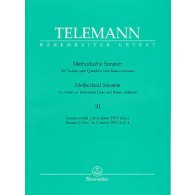 TELEMANN G.P. METHODICAL SONATAS VOL 3 FLUTE