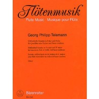 TELEMANN G.P. METHODICAL SONATAS VOL 5 FLUTE