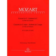 MOZART W.A. CONCERTO KV 313 - ANDANTE FLUTE