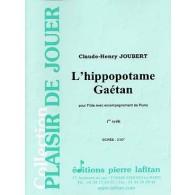 JOUBERT C.H. L'HIPPOPOTAME GAETAN FLUTE