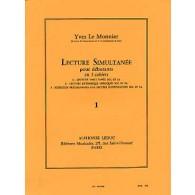 LE MONNIER Y. LECTURE SIMULTANEE VOL 1