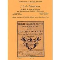 BOISMORTIER J.B. SUITE N°1 FLUTE