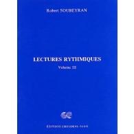 SOUBEYRAN R. LECTURES RYTHMIQUES VOL 3