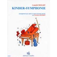 MOZART L. KINDER-SYMPHONIE PIANO 4 MAINS ET JOUETS