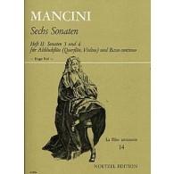 MANCINI F. SONATES VOL 2 FLUTE ALTO