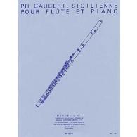 GAUBERT P. SICILIENNE FLUTE