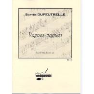 DUFEUTRELLE S. VAGUES VAGUES FLUTE EN SOL SOLO