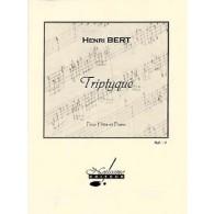 BERT H. TRIPTYQUE FLUTE