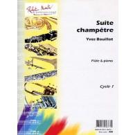 BOUILLAT Y. SUITE CHAMPETRE FLUTE